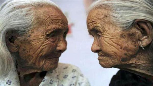 خواهران ژاپنی؛ مسن ترین دوقلو های دنیا